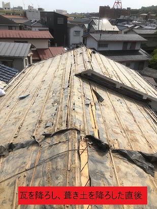 滋賀県大津市で屋根の葺き替え工事、葺き替え工事での注意点