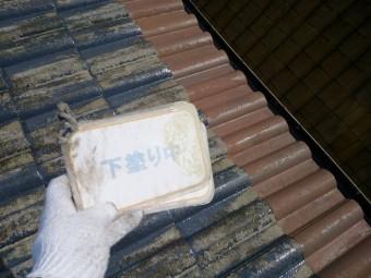 屋根の断熱塗装