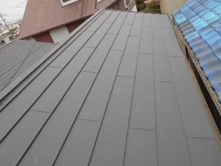 ガルテクト完成屋根