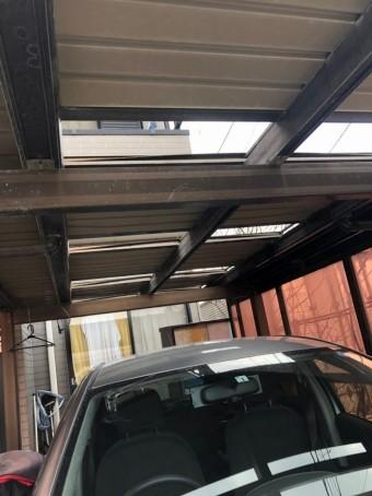 駐車場天井
