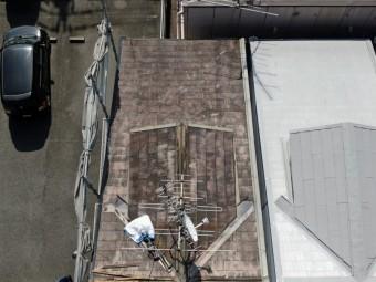 ドローンから見た屋根