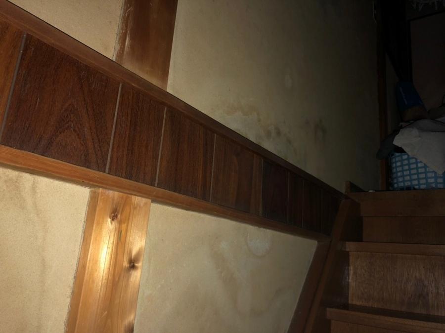 階段雨染み
