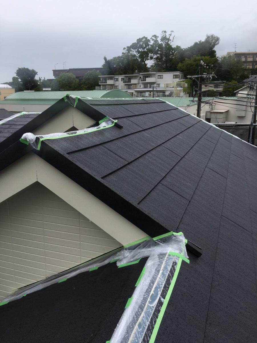 勾配がきつい屋根