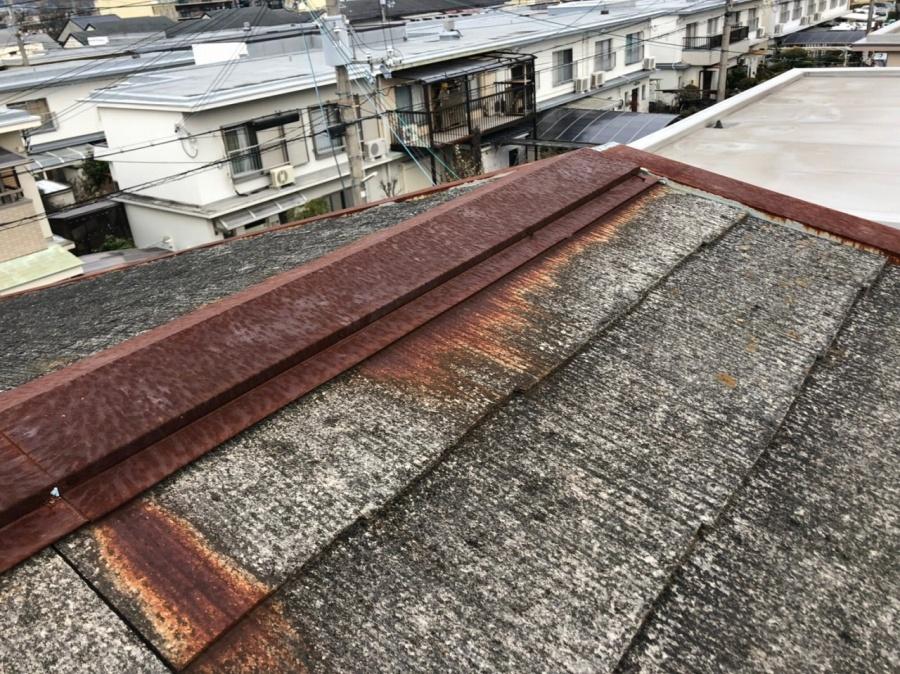 傷んでしまった屋根