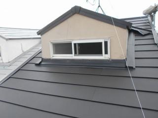 ガルテクトで葺き替えた屋根