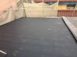 ガルテクト屋根完成