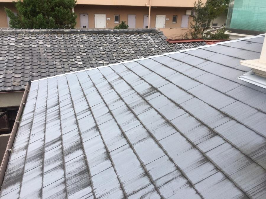 スレート屋根劣化
