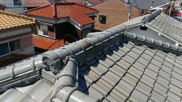 複雑な屋根の形状