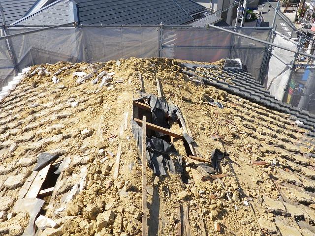 屋根下地劣化