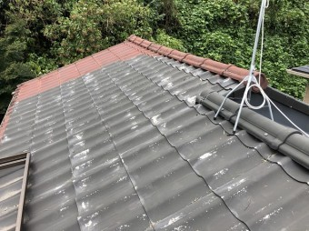 屋根の塗装