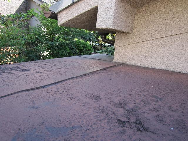 玄関屋根板金