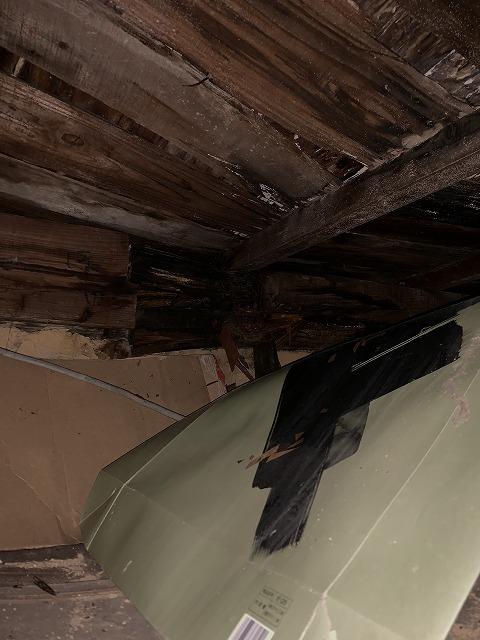 小屋裏垂木