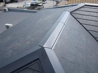 ガルバの屋根完成