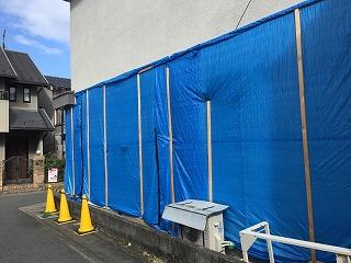 屋根と外壁の補修