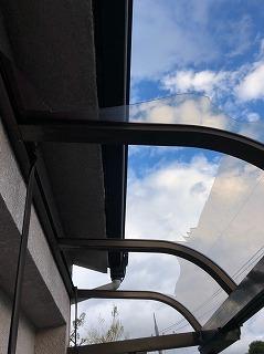 2階テラスの現場調査