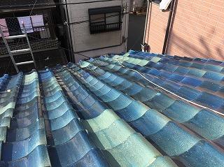 屋根の老朽化