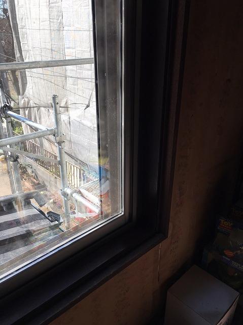 窓サッシ廻り仕舞