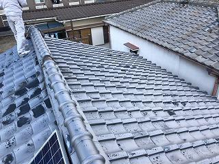 屋根瓦の経年劣化