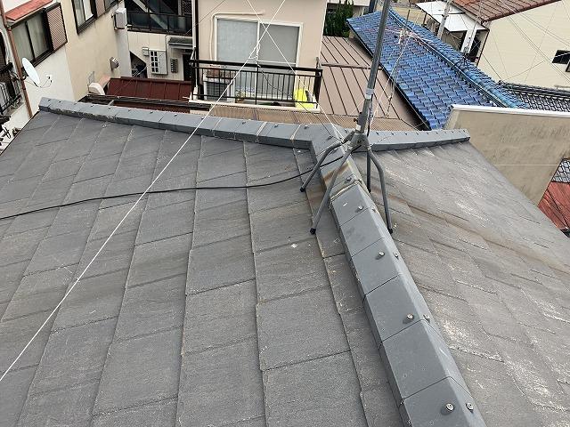 天然スレートの屋根