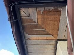 軒天井の張り替え