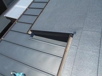 屋根の板金