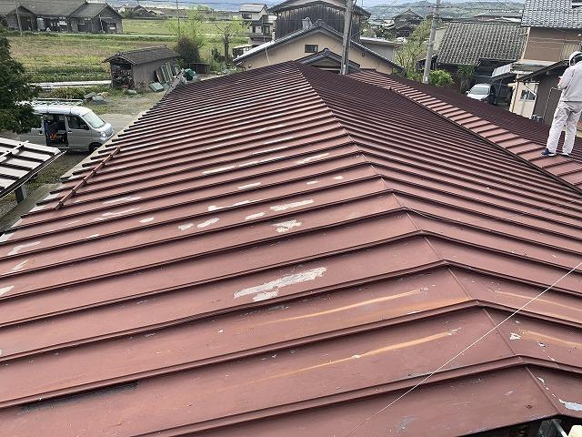屋根全体風景