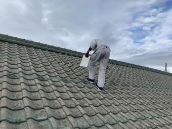 屋根の点検確認