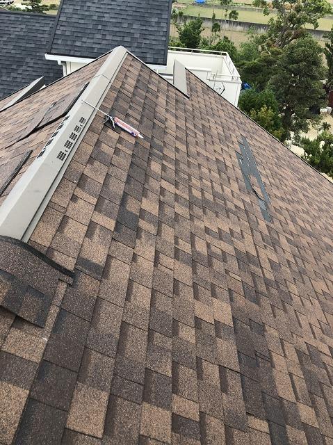 築5年シングル屋根