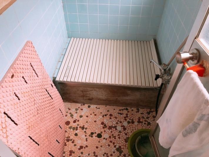 在来タイル風呂