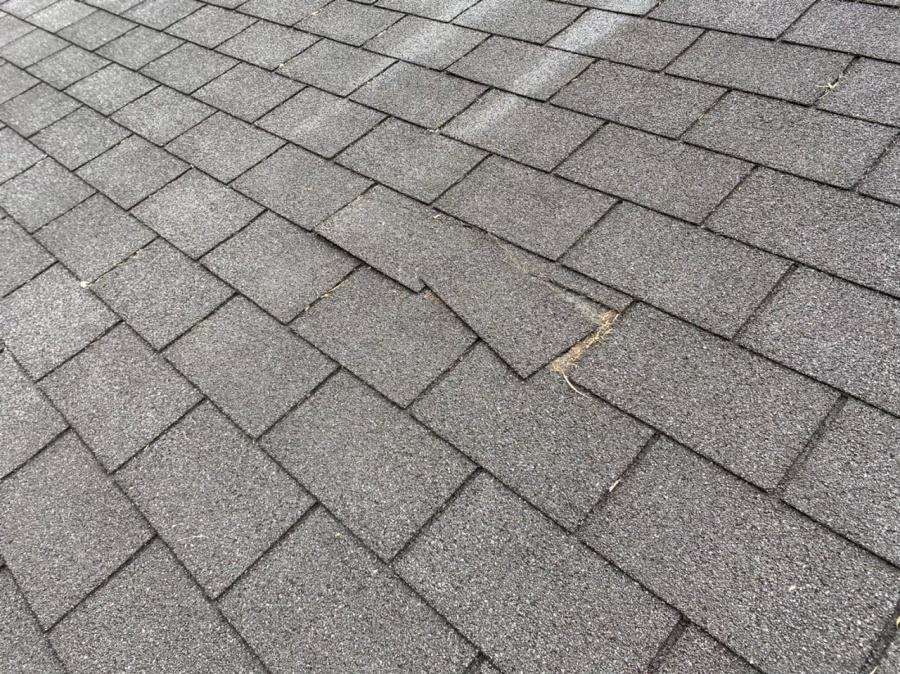 ズレてしまったシングル屋根