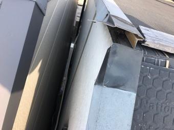 破風板の破損