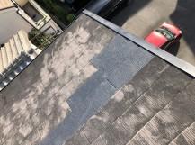 スレート屋根の差し替え