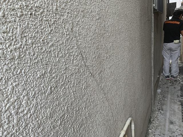 外壁クラック