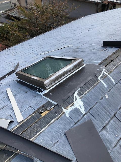 天窓板金補修
