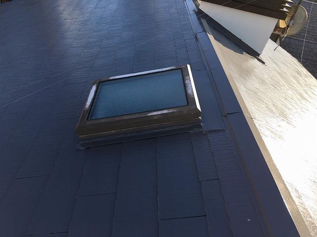 天窓廻り塗装