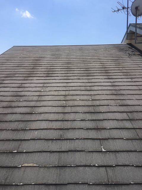 スレート瓦屋根