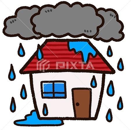 大津市にて大雨で屋根からの雨漏り補修点検作業!!!