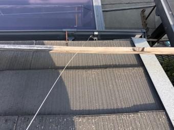 スレート屋根の破損