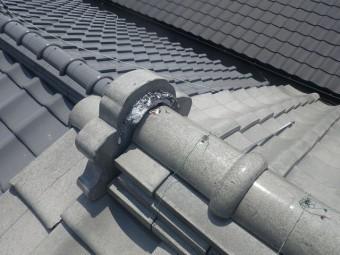 屋根和瓦漆喰