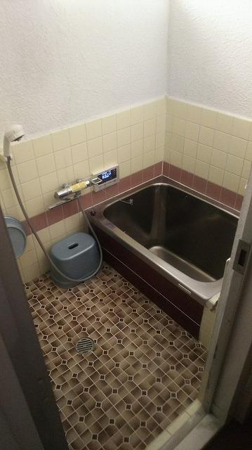 在来タイルのお風呂