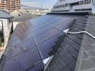 太陽光の乗せた屋根