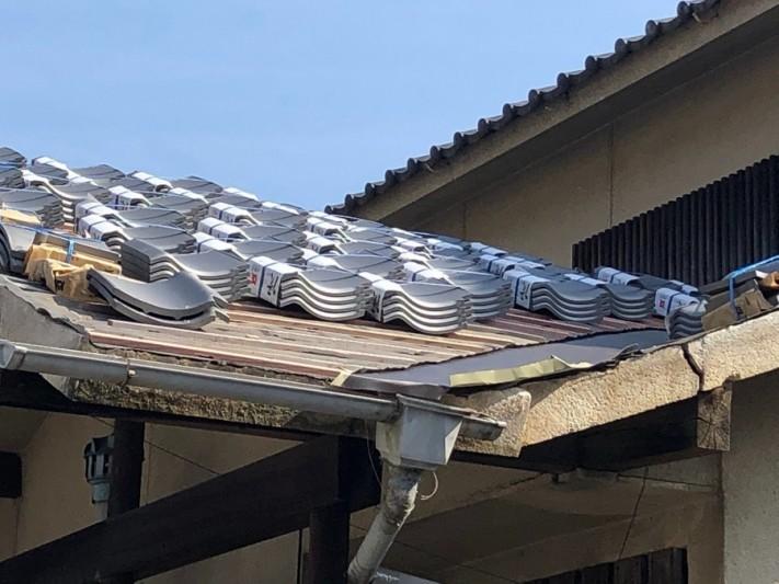 空葺き工法