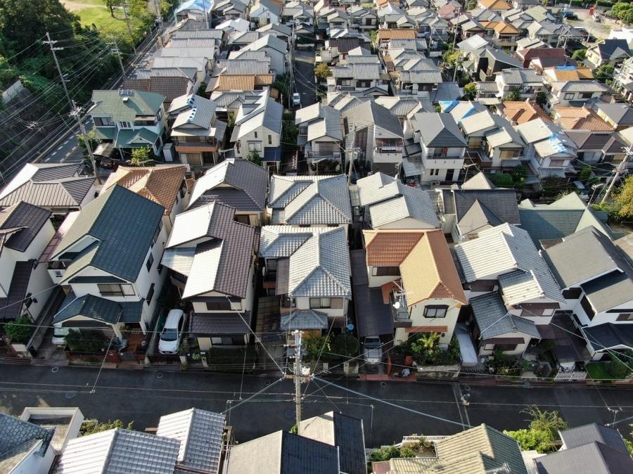 上空30mからの写真
