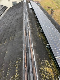 施工前屋根
