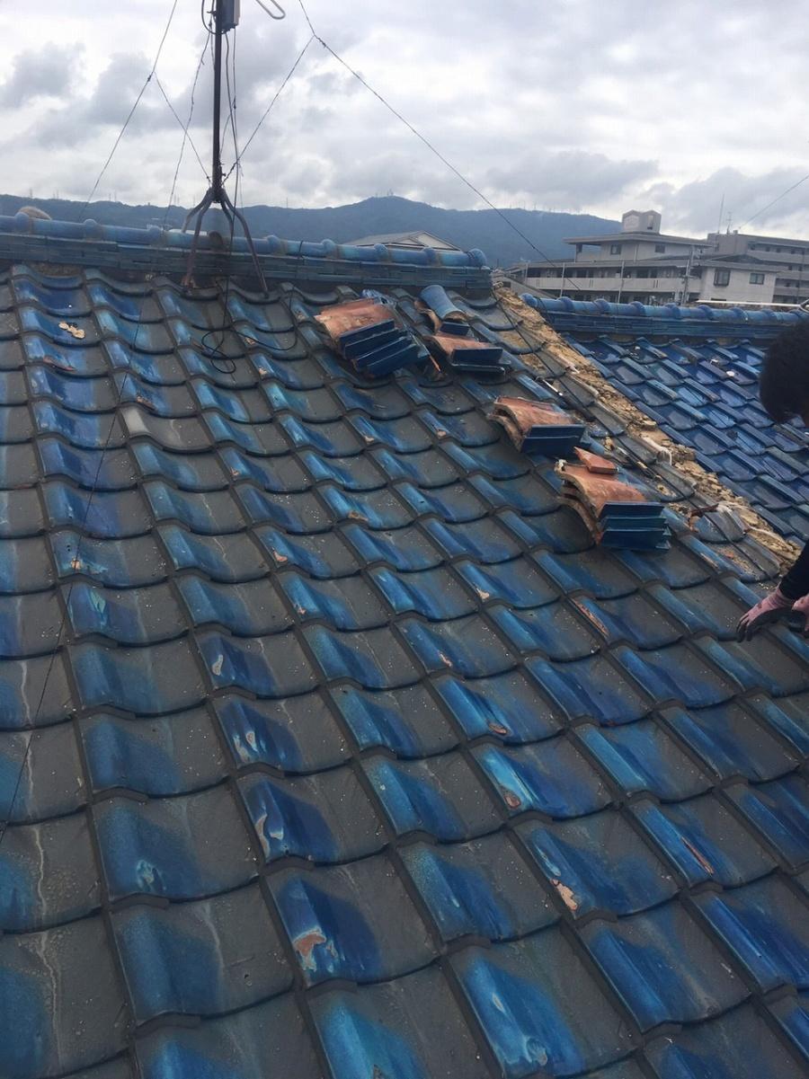 屋根剥がし工事