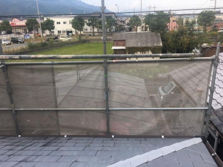 屋根作業用足場