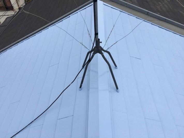 塗装後屋根