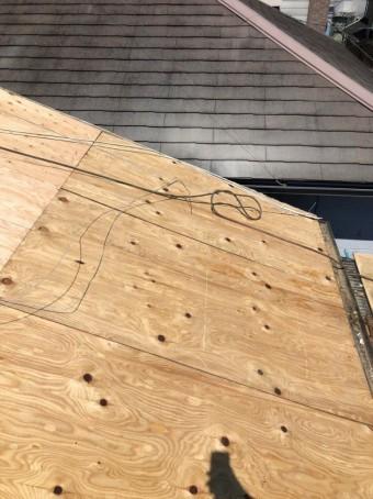 新たな下地合板