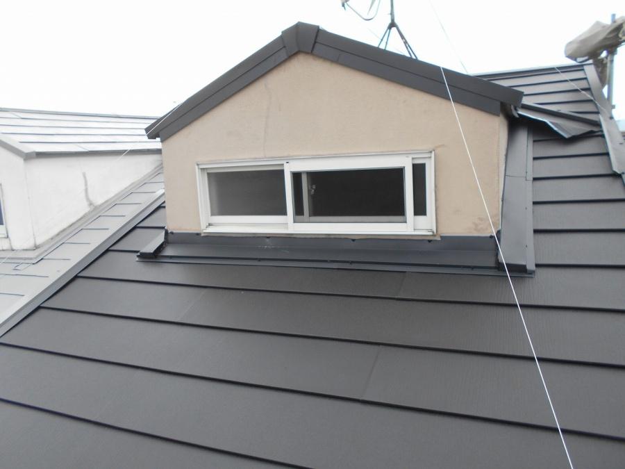 屋根カバー工法写真