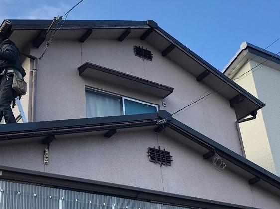 屋根板金完了